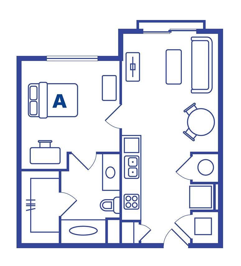 1 bedroom 1 bath apartments Orlando