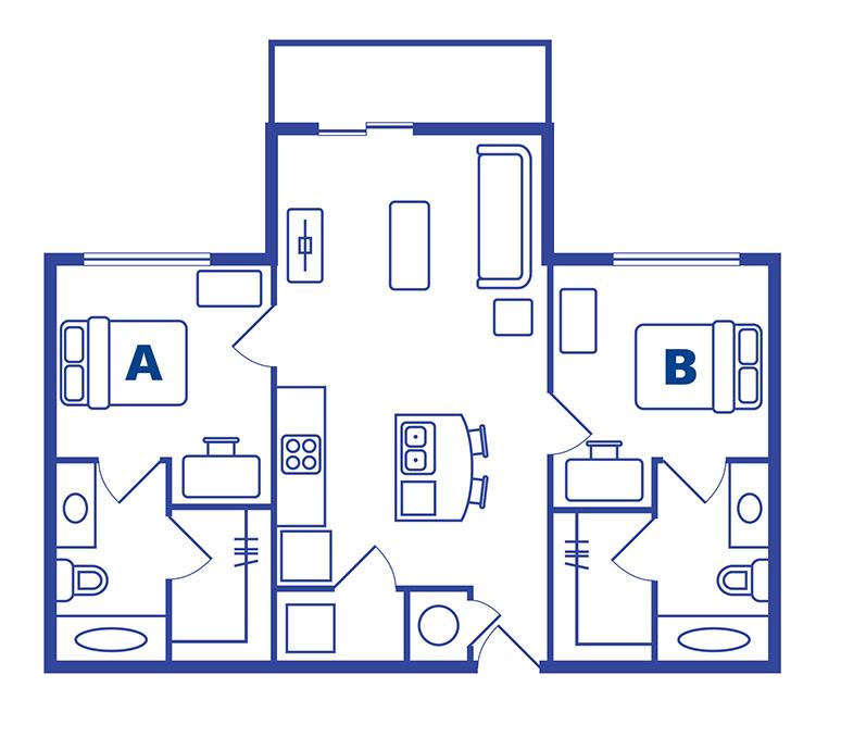 2 bedroom 2 bath apartments Orlando